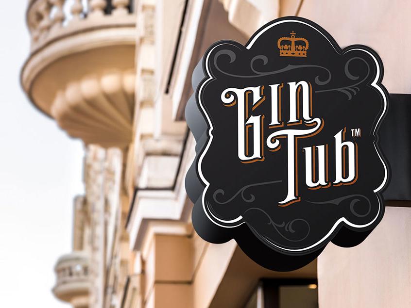 Diseñador de logos - gin tub
