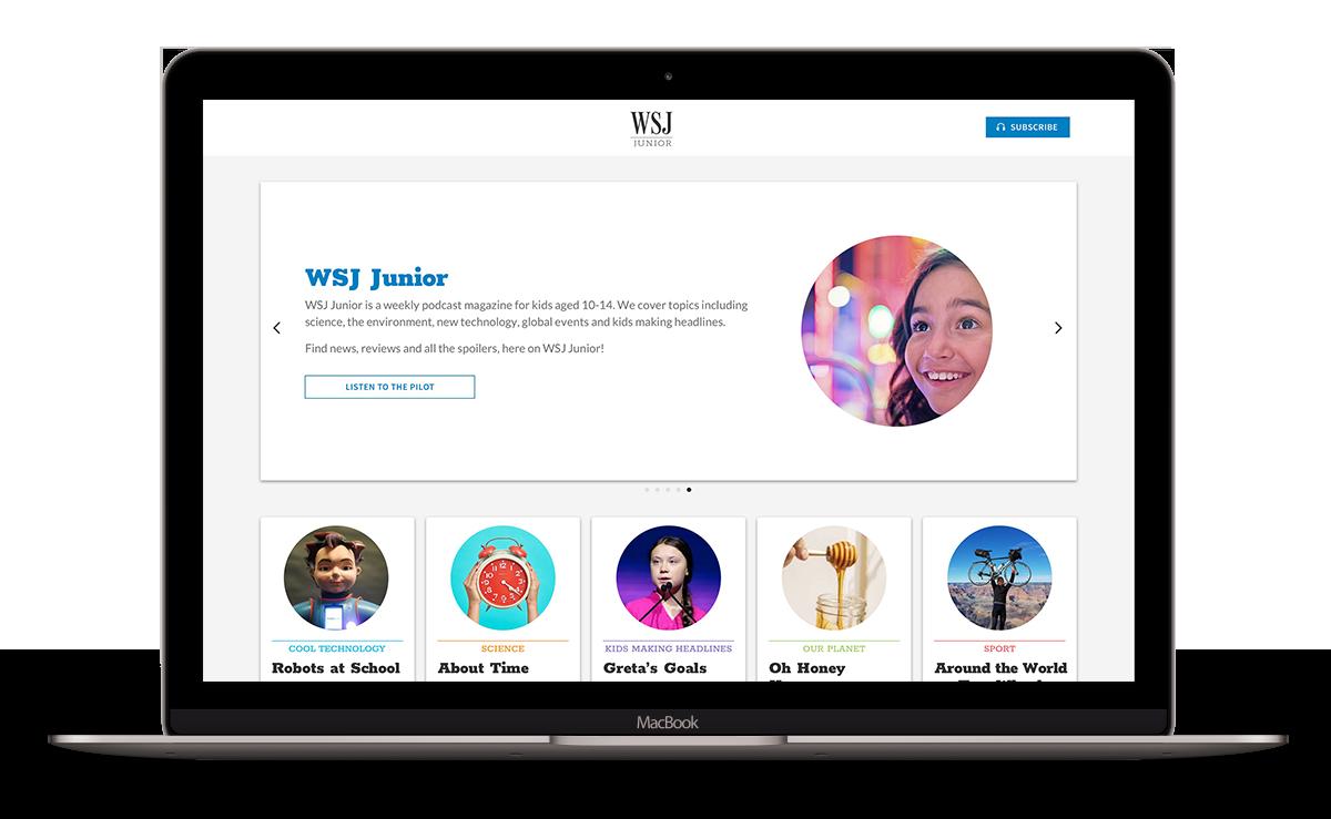diseño y desarrollo web WSJ junior